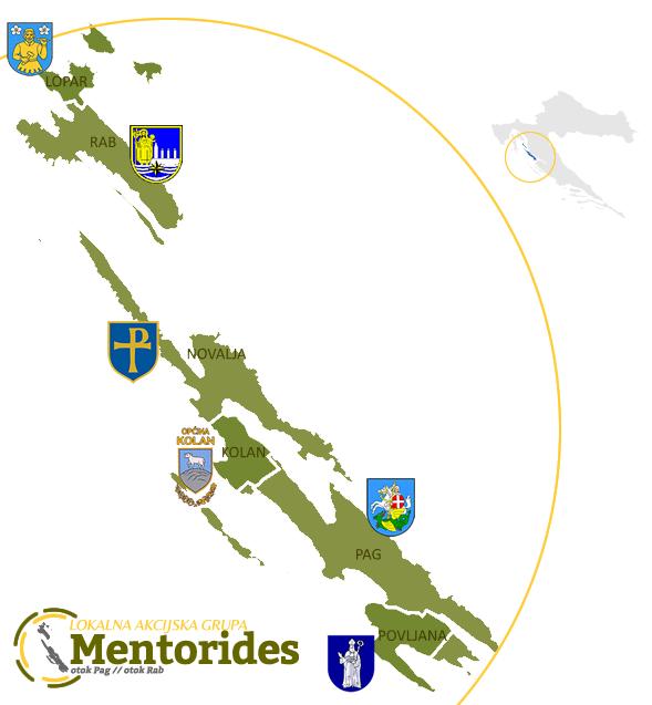 Karta LAG Mentorides